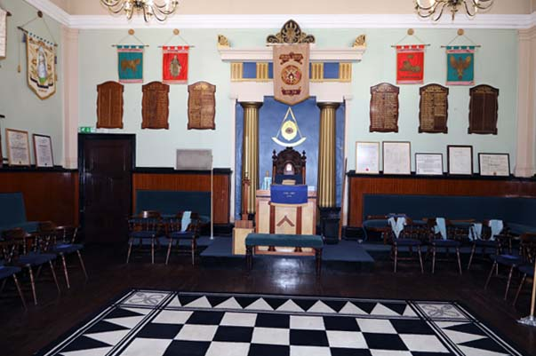 Athol Lodge room Birmingham
