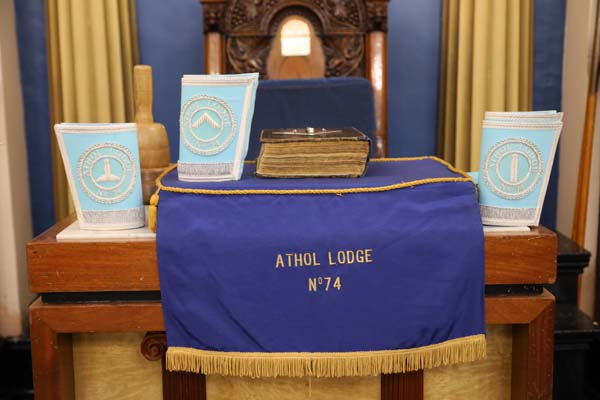 Athol No74 Oldest Masonic Lodge in Birmingham
