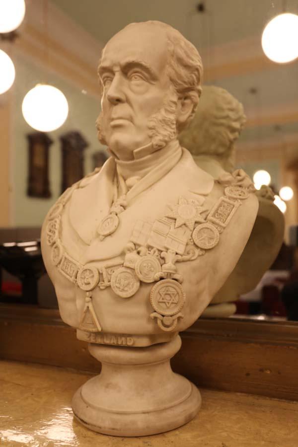masonic bust