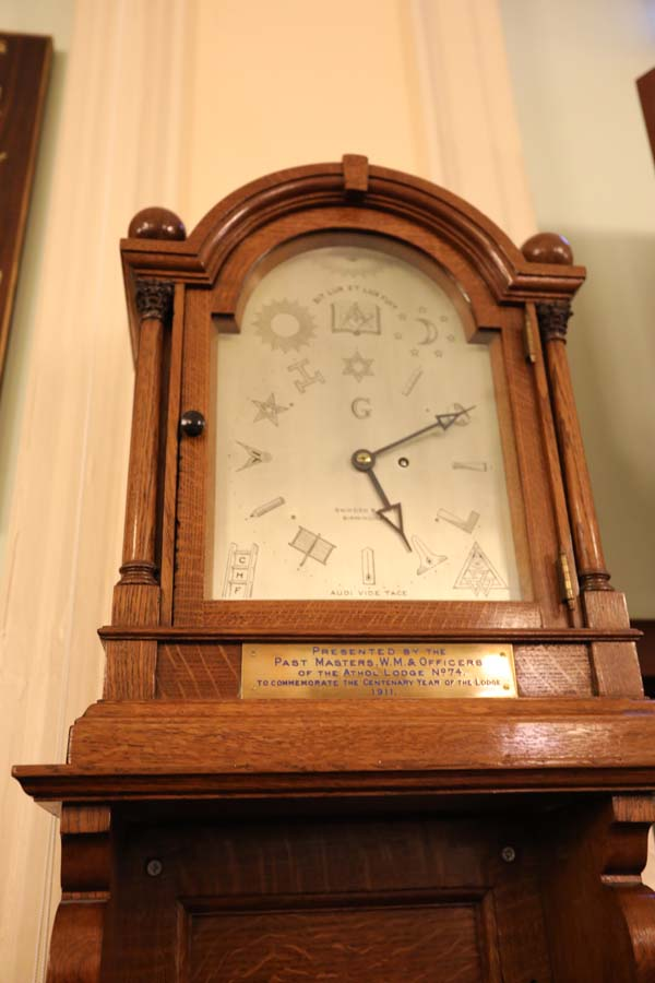 mason clock in Birmingham